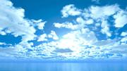 【MMDステージ配布】優しい輝きの空 TP4【スカイドーム】