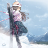 スキー榛名ちゃん