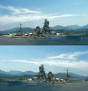 伊勢型 戦艦(航空戦艦とそれ以前)