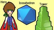 HIT (Hero, Icosahedron, Tower)