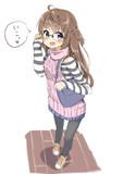 例のセーター