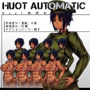【立ち絵配布】Huotちゃん