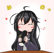 三日月(今年はちゃんと恵方巻、食べられます♪)
