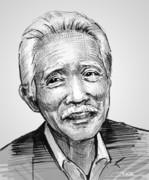 追悼画:藤村俊二さん