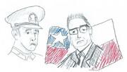 チリの英雄二人