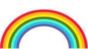 虹の日なんでw 背景抜きです