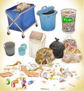ゴミ箱セットver1.0