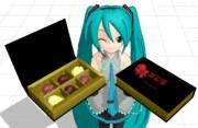 【MMDモデル配布】GODZILLAチョコ【チョコは注射より食べるに限るぜ!ゴジラさん】