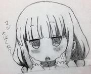 カンナ カムイちゃん模写