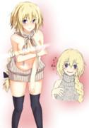 例のセーターのジャンヌ(逆)