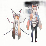 キアシナガバチコちゃん