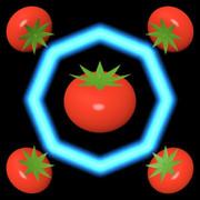 ハト (八角形とトマト)