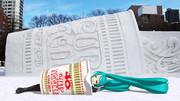 【さっぽろ雪まつり2017】カップヌードル広場