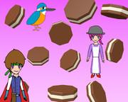 八角形のチョコレート