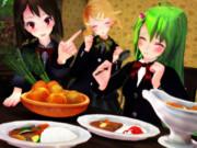 今日はカレーを食べよう!