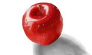リンゴ 模写