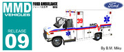 [MMD] フォード救急車 (Beta)