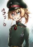 後方勤務を夢見てほくそ笑む隊長