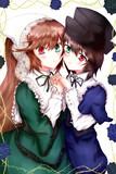 深緑と蒼の薔薇姉妹