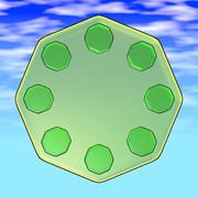 八角形のグミ