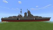 [Minecraft]戦艦ビスマルク