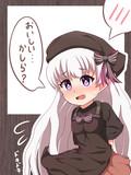 ナーサリーちゃんは渡したチョコのお味が気になるようです!