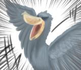 怪鳥ハシビロコウ