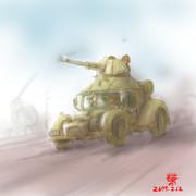 陸戦型ザク2「高機動装輪装甲型」