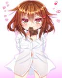 「雷の手作りチョコを用意したわ!よーく味わって食べて?はいっ♥」
