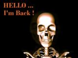 HELLO ... I'm Back!