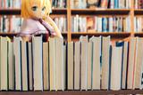 本を探すアリス
