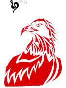 トライバル 鷲
