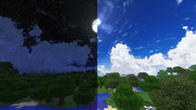 【Minecraft:JE&BE】SummerCloudz【空リソースパック】