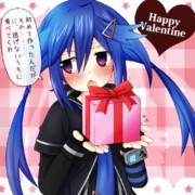 くろめのバレンタインチョコ