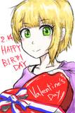 フレデリカ誕生日とバレンタイン