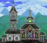【Terraria】THE 教会【建築】