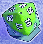 24面ダイス「四方六面体」