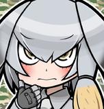 けものフレンズのハシビロコウちゃんアイコン