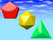 五角形、二十面体、三角形
