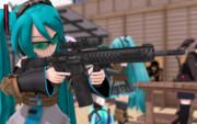 MMD-SHOT SHOW2017 -野外射撃場-①