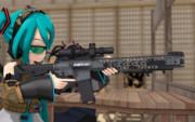 MMD-SHOT SHOW2017 -野外射撃場-③
