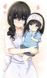 文香さんとこの娘さんはお母さん似