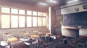 教室(夕方)
