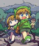 カエル兄妹の冒険