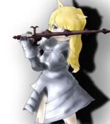 剣に磨きをかけて