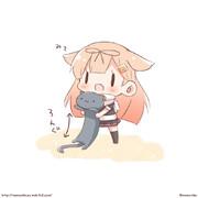猫の日!ぽいぬちゃん!