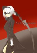 NieR:Automataの2Bさん