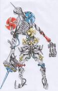 オリジナル怪人/ワーデルタ・ブラストガストサイクロン