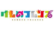 けものフレンズ トレースロゴ