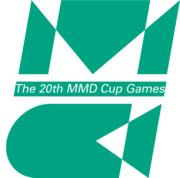 【第20回MMD杯】大会ロゴ(透過)